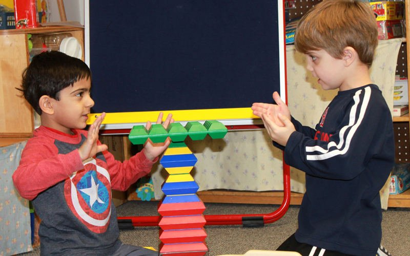 Admissions for Weston Wing Preschool and Childcare — Weston, MA